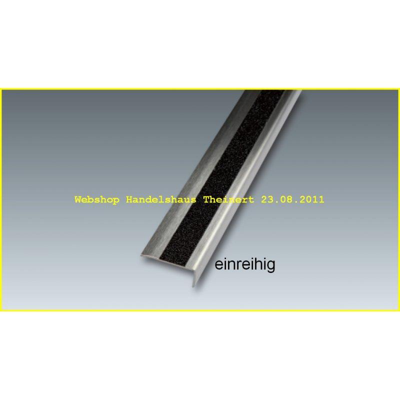 treppenwinkelprofil edelstahl mit safety walk einlage r13 einreihig. Black Bedroom Furniture Sets. Home Design Ideas