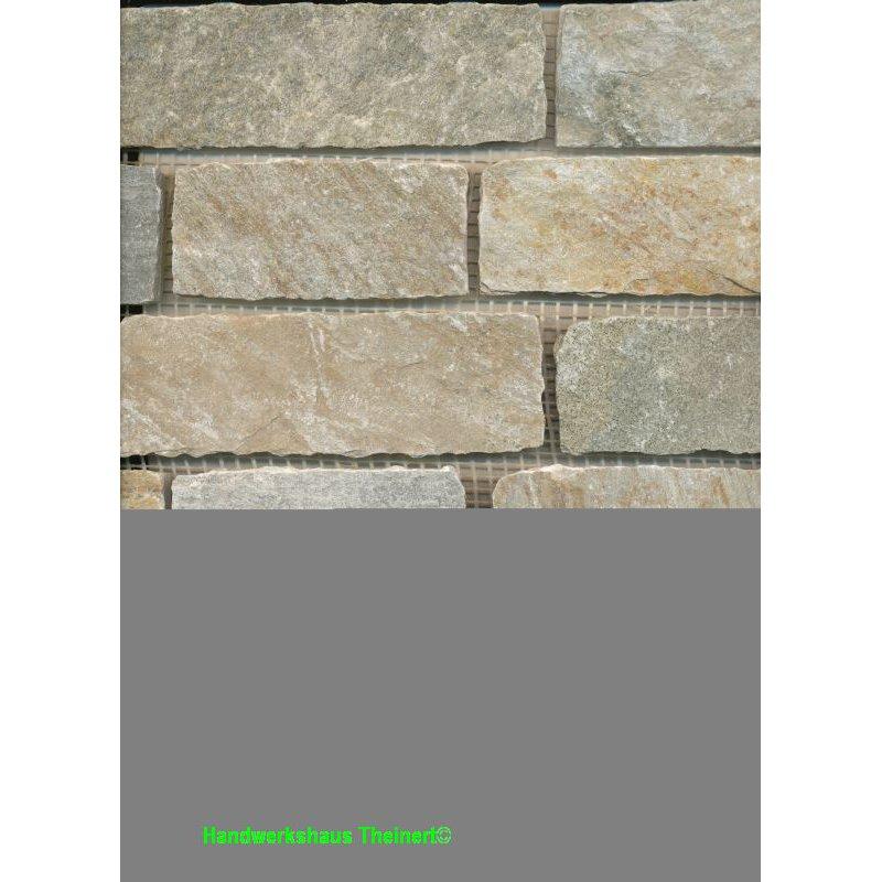 1 Tafel Brick Schiefer Hell/beige, Fliesenschiene24.de