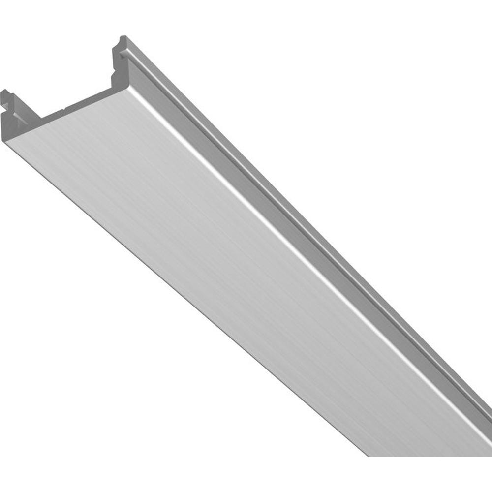 Flaches Alu U Profil Ohne Kragen 200cm
