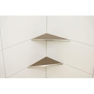 duschablage edelstahl befliesbar zum nachr sten 205x305mm. Black Bedroom Furniture Sets. Home Design Ideas