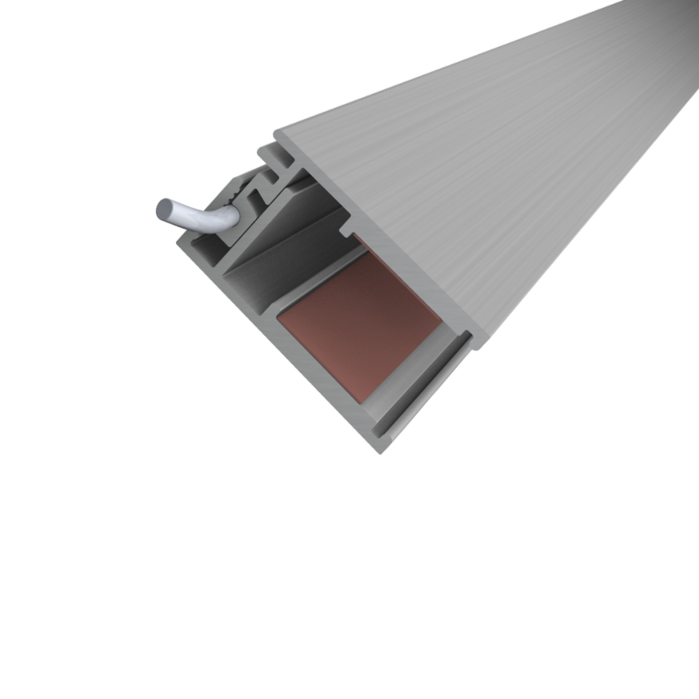 Fliesenschiene24 | LED U Profil für Glasscheiben 200cm