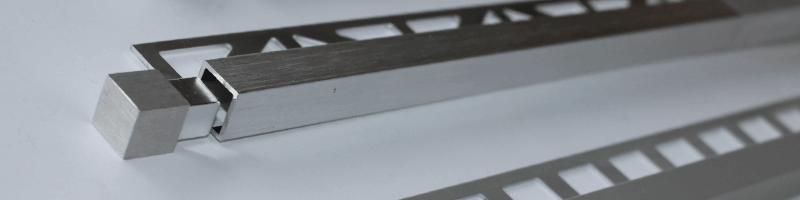 Schienen Profile Fliesenschiene - Eckschienen fliesen
